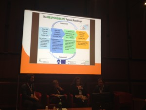 RESPONSIBILITY Forum Roadmap @ presentation in the round table. Rome 20th November 2014 Rome 20th November 2014